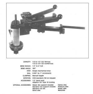CL-62 Tube Bender