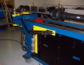 MIIC 40MM CNC Hydraulic Tube Bender Rebuild Sample