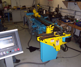 Pines CNC 040 Hydraulic Tube Bender Rebuilt Sample