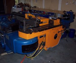 Pines #4 Low Boy Hydraulic Tube Bender Rebuilt Sample