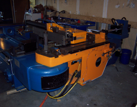Pines #4 Low Boy Hydraulic Tube Bender Rebuilt Sample