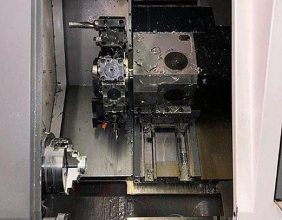 2013 Samsung SL-20BMC HMC Horizontal Machining Center