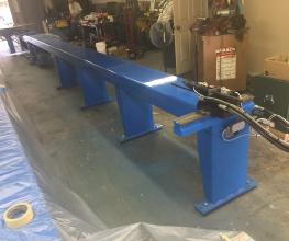 Pines #1 Hydraulic Tube Bender Rebuild Sample