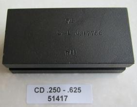.250 / .625 OD CLAMP DIE