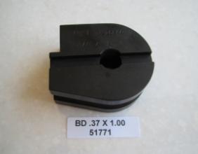 .375 OD X 1.00 CLR BEND DIE