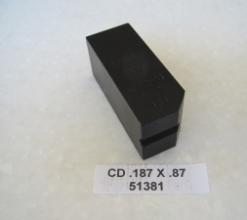 .187 OD X .87 LONG CLAMP DIE