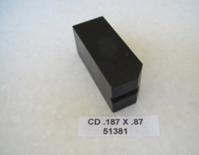 .187 OD X 2.25 LONG CLAMP DIE