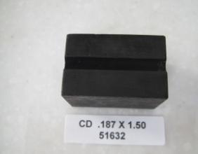 .187 OD X 1.50 LONG CLAMP DIE