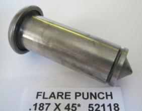.187 DOUBLE FLARE PUNCH X 45 DEGREE