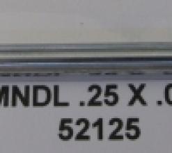 .250 OD X .014 WALL CHROME 1 BALL MANDREL