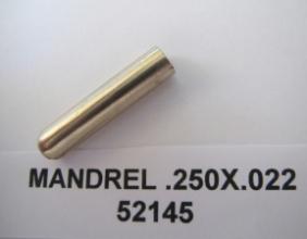 .250 OD X .022 WALL AMPCO PLUG MANDREL
