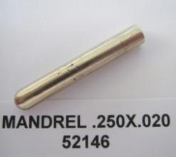 .250 OD X .020 WALL AMPCO PLUG MANDREL