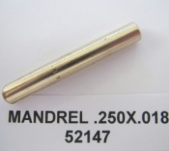 .250 OD X .018 WALL AMPCO PLUG MANDREL