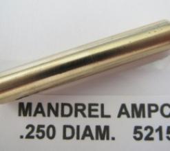 .250 OD AMPCO PLUG MANDREL