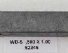 .500 OD X 1.00 CLR WIPER DIE STEEL