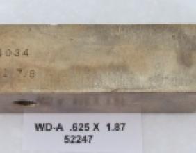 .625 OD X 1.87 CLR WIPER DIE AMPCO