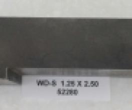 1.25 OD X 2.50 CLR STEEL WIPER DIE