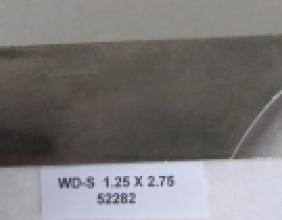 1.25 OD X 2.75 CLR STEEL WIPER DIE