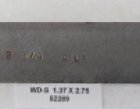 1.375 OD X 2.75 CLR STEEL WIPER DIE