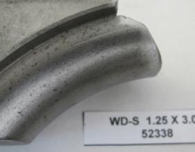 1.25 OD X 3.00 CLR STEEL WIPER DIE