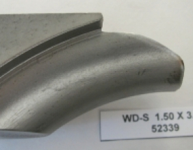 1.50 OD X 3.50 CLR STEEL WIPER DIE