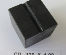 .120 OD X 1.00 LONG CLAMP DIE