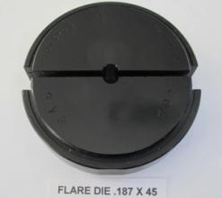 .187 OD X 45 DEGREE FLARE DIE
