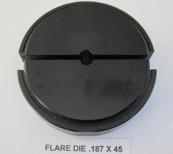.187 OD X 45 DEGREE FLARE DIE