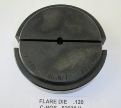 .120 OD X 37 DEGREE FLARE DIE 30-3700 SERIES