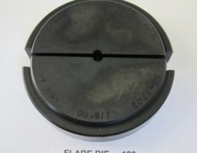 .120 OD X 37 DEGREE FLARE DIE 30-3700 SERIES