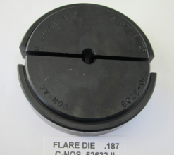 .187 OD X 37 DEGREE FLARE DIE 30-3700 SERIES