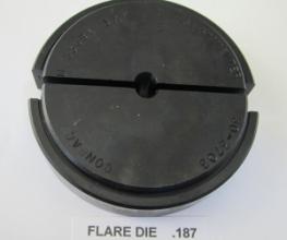 .187 OD X 37 DEGREE FLARE DIE 30-3700 SERIES