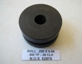 .250 OD X .94 CLR .500 TP .50 CLH BEND DIE