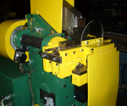 Pines 5T Vertical Press Bender Rebuilt Sample