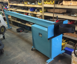 Clarke & Lewis CL-150M Manual Tube Bender Refurbish Sample
