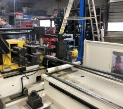 Used Soco SB-90x2B-2S 2 ELECTRIC SERVO CONTROLLED AXIS TUBE BENDER