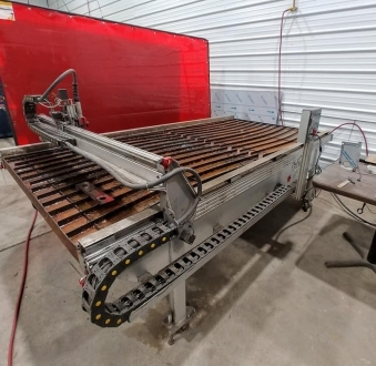 Used Plasma Cutting Machine
