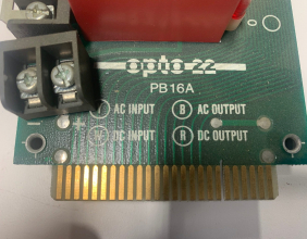 Used OPTO 22 Board PB16A for Pines Digital Dial A Bend Control