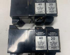 Furnas Electric Co 46FB 46ZB40 46ZB20