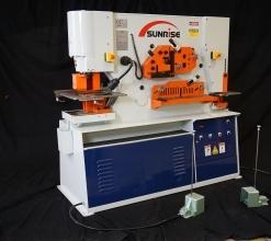 Sunrise IW-110S Dual-Cylinder – Dual-Operator Ironworker