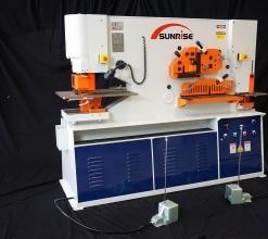 Sunrise IW-110SD Dual-Cylinder – Dual-Operator Ironworker