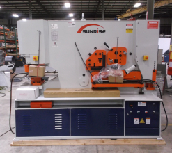 Sunrise IW-185SD Dual-Cylinder – Dual-Operator Ironworker
