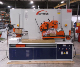 Sunrise IW-185SD Dual-Cylinder – Dual-Operator Ironworker