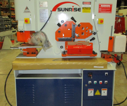 Sunrise IW-66SD Dual-Cylinder – Dual-Operator Ironworker