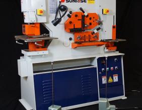 Sunrise IW-66S Dual-Cylinder – Dual-Operator Ironworker
