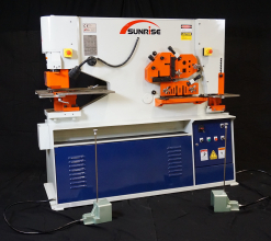 Sunrise IW-66SD Dual-Cylinder – Dual-Operator Ironworker