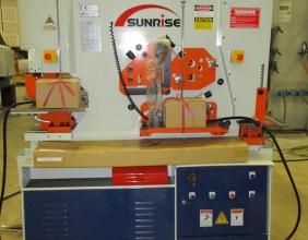 Sunrise IW-88S Dual-Cylinder – Dual-Operator Ironworker