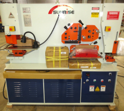 Sunrise IW-88SD Dual-Cylinder – Dual-Operator Ironworker