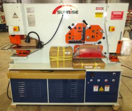 Sunrise IW-88SD Dual-Cylinder – Dual-Operator Ironworker