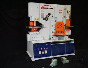 Sunrise IW-95KD Dual-Cylinder – Dual-Operator Ironworker
